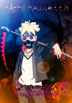 Happy Halloween Boruto Uzumaki | Turarara
