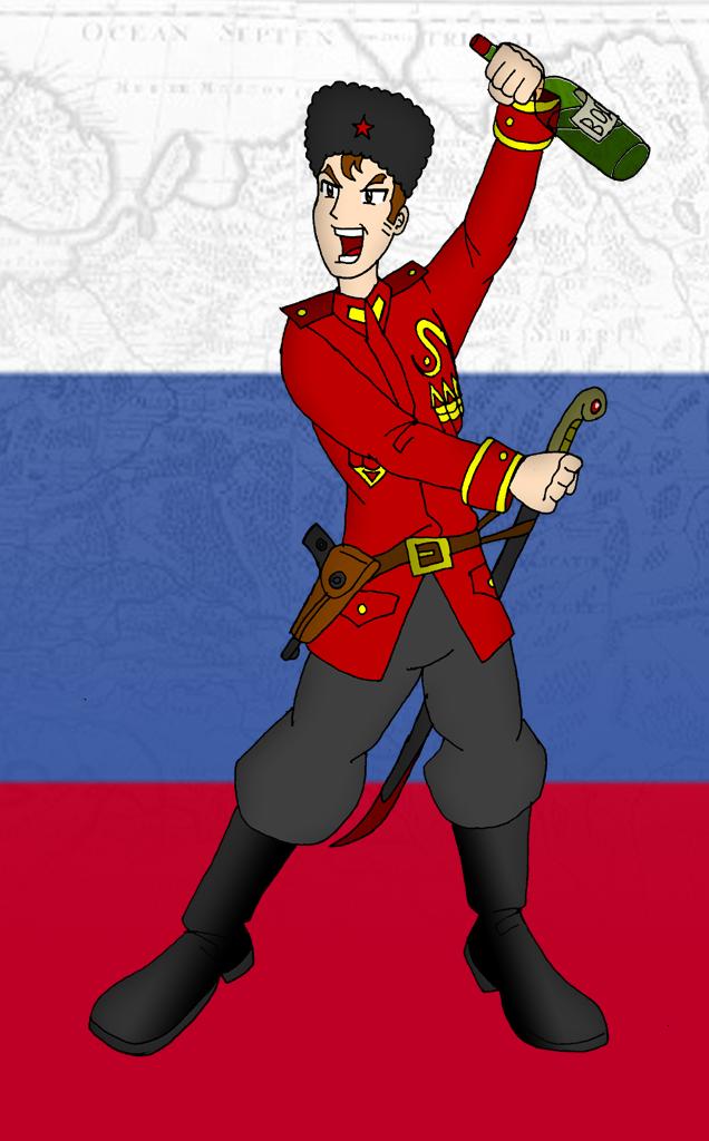 World Warriors - Cossack by AlexeiKazansky