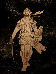 Warrior of Sand by AlexeiKazansky