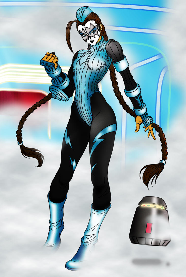 Ace frehley's sister from his home planet Jendell  by petnick