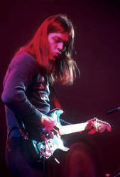 David Gilmour from Pink Floyd by petnick