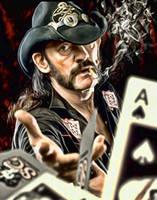 Lemmy from Motorhead by petnick