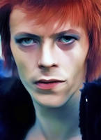 David Bowie by petnick
