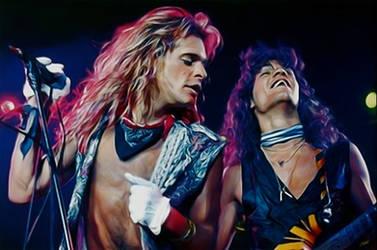 David Lee Roth And Eddie Van Halen by petnick