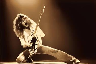 Eddie Van Halen by petnick