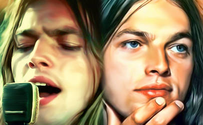 Pink Floyd's David Gilmour by petnick