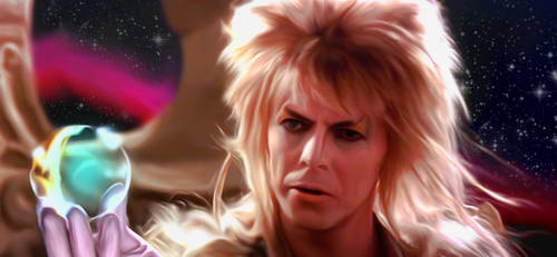David Bowie in the movie labyrinth