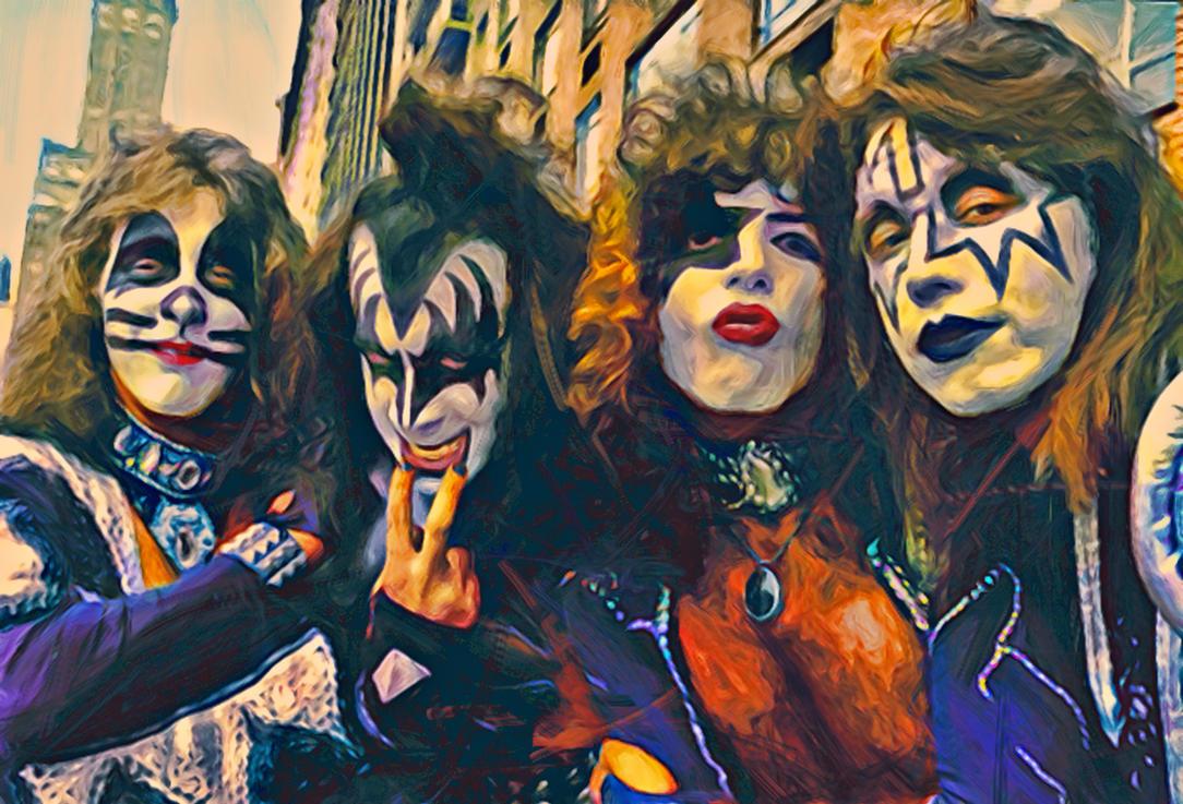 Kiss 1976 by petnick