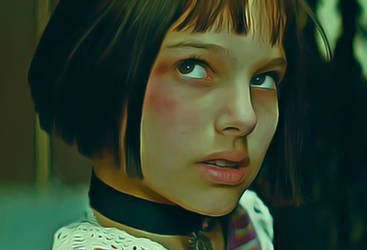 Natalie Portman as Mathilda Lando from 'Leon' by petnick