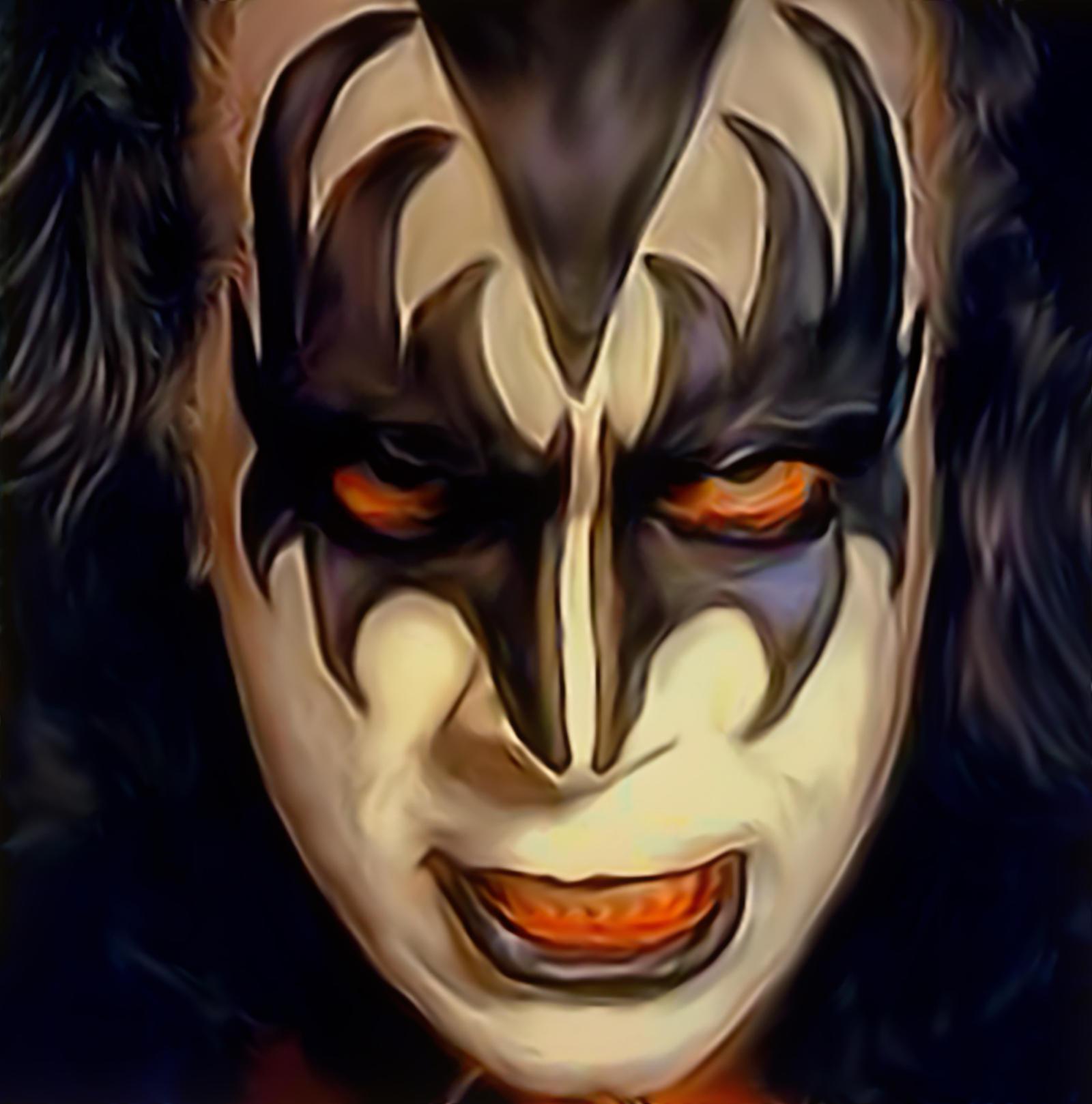 Kiss Demon Makeup: Gene Simmons The Demon By Petnick On DeviantArt