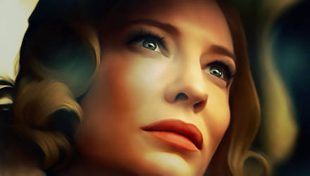 Cate Blanchett in the Movie Carol by petnick