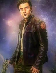 Star Wars Poe Dameron by Oscar Isaac by petnick