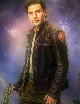 Star Wars Poe Dameron by Oscar Isaac