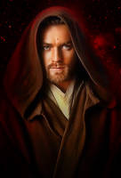 Obi Wan Kenobi by Ewan Mc Gregor by petnick