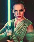 Star Wars Rey by Daisy Ridley