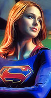 Supergirl by Melissa Benoist