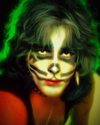Peter Criss The Catman from the Band KISS ! by petnick