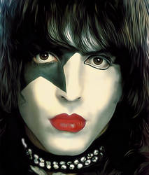 Paul Stanley from KISS by petnick