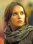 Star Wars Jyn Erso by Felicity Jones