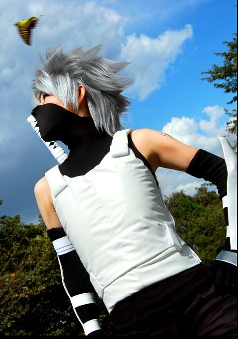 iku kakashi cosplayer 3 by silvereyedsurfer