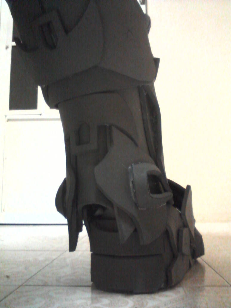 eva foam armor halo reach custom shin armor 5 by