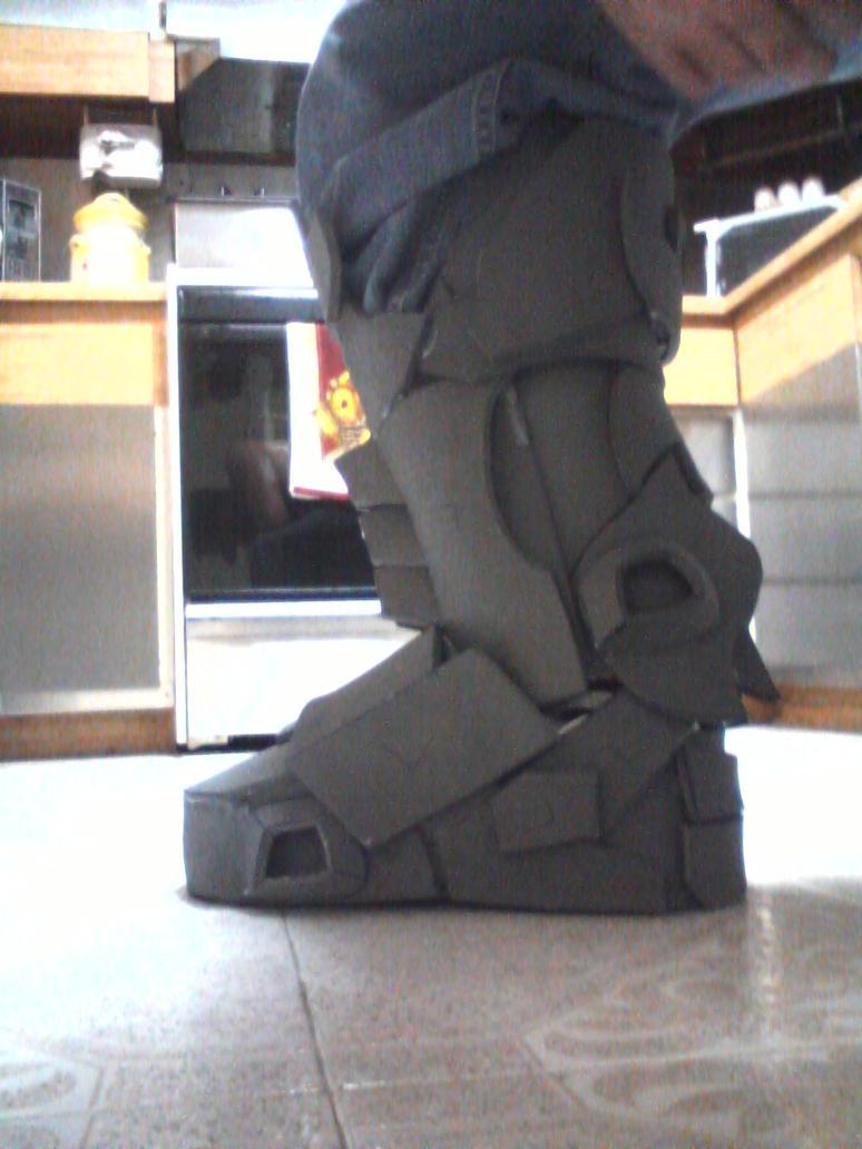 eva foam armor halo reach custom shin armor 15 by silvereyedsurfer