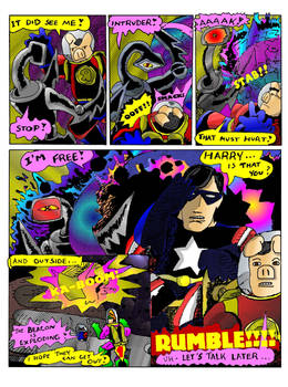Page 8,Harry's Weird tale from the Future!