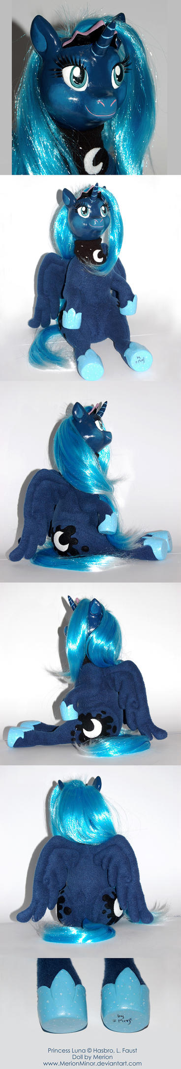 Princess Luna Doll by Merionic