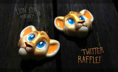 Lion Cub magnet raffle by Merionic