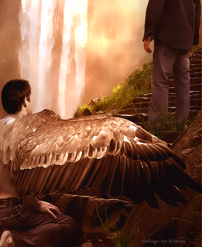 Castiel and Dean by byAlizeya