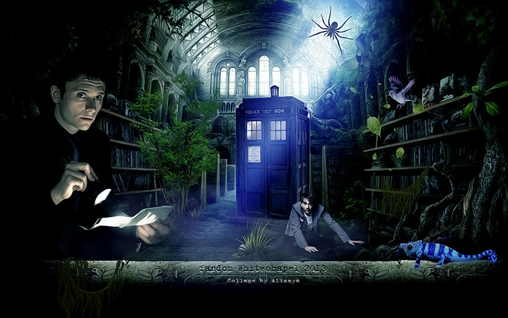 Secret library by byAlizeya