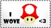 I wove stamp by Tadadada