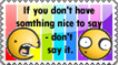 Don't say it - Stamp by Tadadada