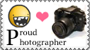 Proud Photographer Stamp by Tadadada