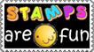 Stamps are Fun - Stamp by Tadadada