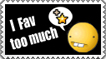 Fav too much - Stamp by Tadadada