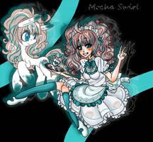 The mocha-loving maid (RQ) by anakichi