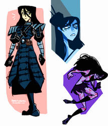Samurai Jacqueline by DerpStickers