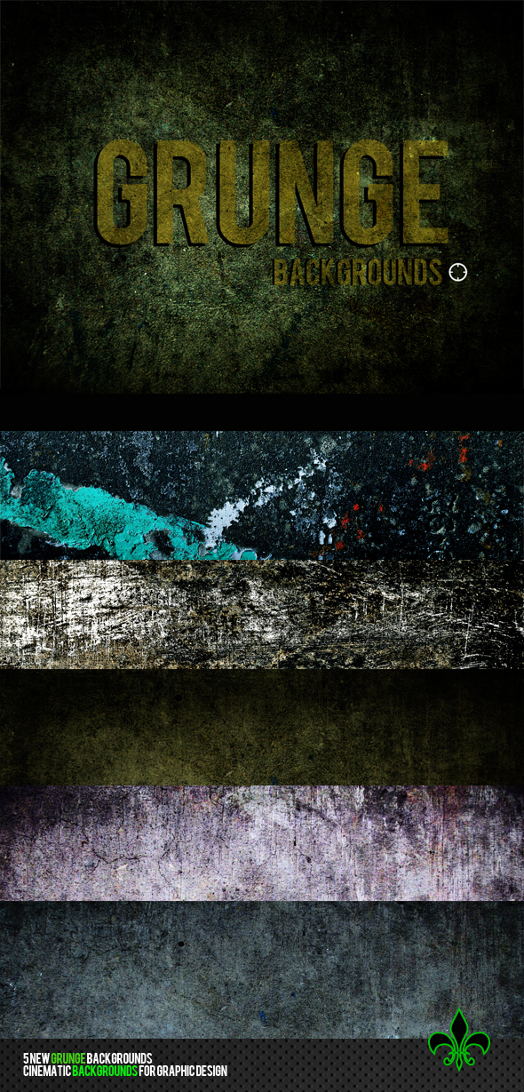 Grunge Backgrounds by codesignofficial