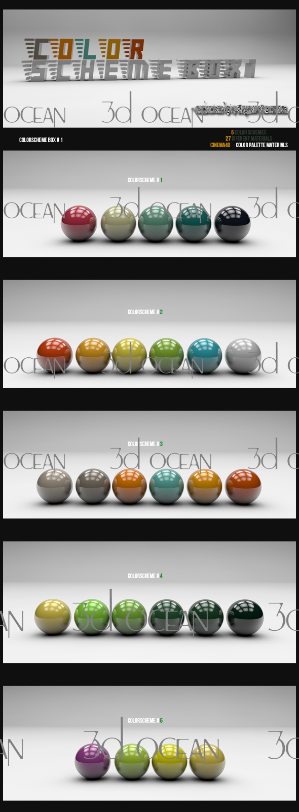 Color scheme box 1. by codesignofficial