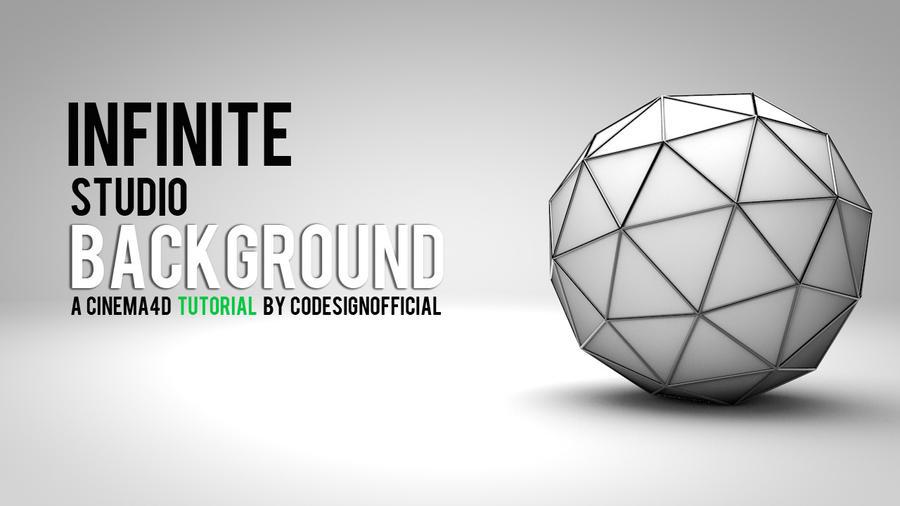 Infinite Studio Background - Cinema4d Tutorial by codesignofficial