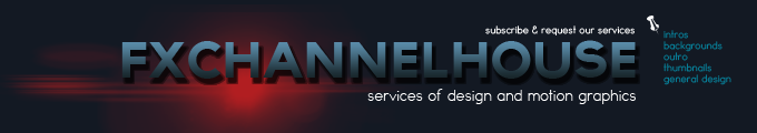 fxchannelhouse banner by codesignofficial