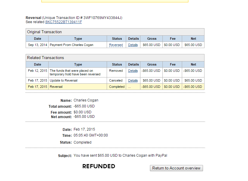 Refund Proof by codesignofficial