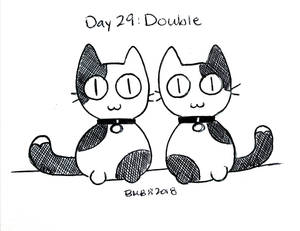Inktober Day 29: Double