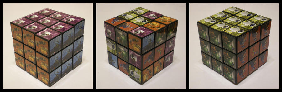3x3x3 Wall-E cube by Syns-Stuff