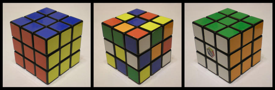 3x3x3 Basic Cube by Syns-Stuff
