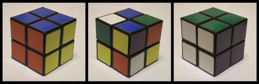 2x2x2 Basic cube by Syns-Stuff