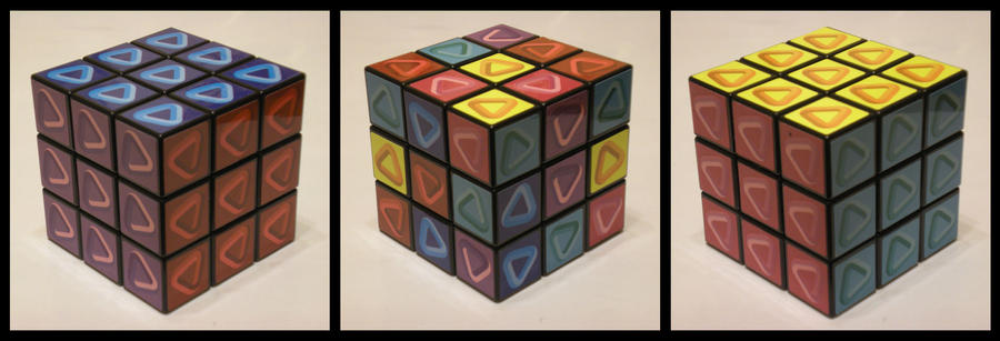 3x3x3 Discovery Store Cube by Syns-Stuff