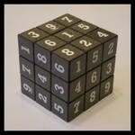 3x3x3 Sudokube by Syns-Stuff