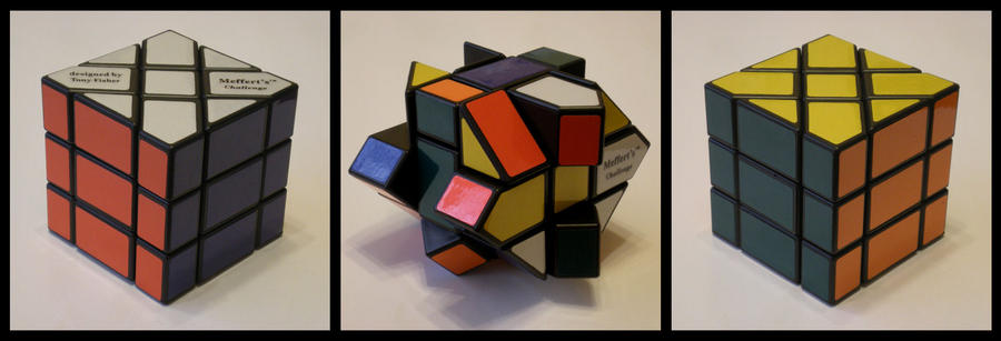 3x3x3 Fisher Cube by Syns-Stuff